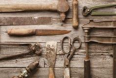 starzy narzędzia obrazy stock