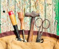 Starzy narzędzia Fotografia Royalty Free