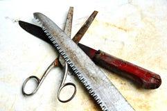 starzy narzędzia Obraz Stock