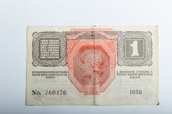 Starzy Niemieccy banknoty, pieniądze fotografia stock