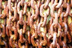 Starzy niewolnictwo łańcuchy Obrazy Royalty Free