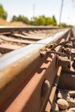 Starzy ośniedziali metali tajni agenci na kolei Zdjęcie Stock