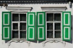 starzy okno Zdjęcia Stock