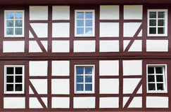 Starzy okno Obrazy Royalty Free