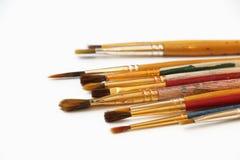 Starzy Paintbrushes 2 Zdjęcie Stock