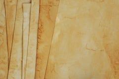 starzy papiery Obrazy Royalty Free