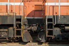 Starzy pociągi Obraz Royalty Free