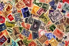Starzy poczta znaczki Argentyna zdjęcie stock