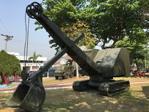 Starzy pojazd wojskowy Obraz Stock