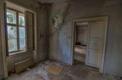 Starzy pokoje w domu zdjęcie stock