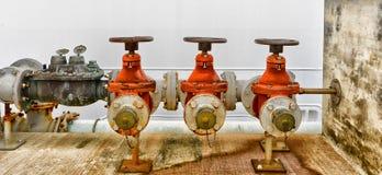 Starzy przemysłowi wodni klepnięcia Obraz Stock
