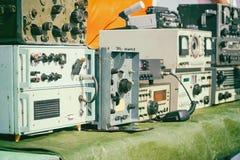 Starzy radiowej inżynierii przyrząda fotografia stock