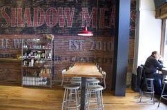 Starzy restauracja rynku wnętrza Zdjęcie Royalty Free