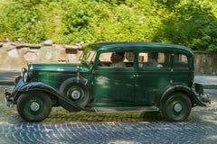 Starzy retro samochodowi 121 VOLVO amazonki bierze uczestnictwo w biegowym Leo Obraz Stock