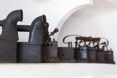 Starzy roczników żelaza zdjęcia stock