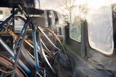 Starzy rowery Fotografia Royalty Free