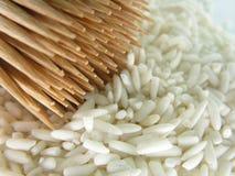 starzy ryżu kebabów kije fotografia stock
