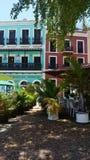 Starzy San Juan budynki Obrazy Stock
