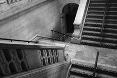 Starzy schody zdjęcia stock