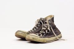 starzy sneakers Obrazy Royalty Free