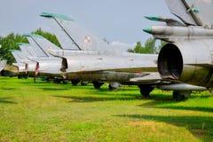 Starzy sowieci samoloty Fotografia Stock