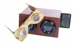 Starzy stereoskopy Obrazy Stock