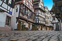Starzy Strasburg domy obrazy royalty free