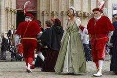 Starzy tancerze Obraz Royalty Free