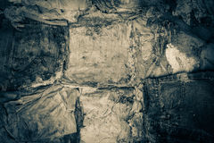 Starzy ubrania rozpadający się jako tekstura Zdjęcia Stock