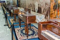 Starzy Uroczyści pianina obrazy royalty free