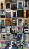 Starzy włoscy drzwi zdjęcie royalty free