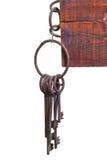 Starzy więźniarscy klucze Zdjęcie Royalty Free