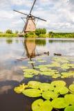 Starzy wiatraczki w holandiach Zdjęcie Stock