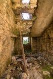 starzy wyburzający starways w koszary od 1 wojny światowej obrazy stock