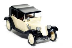 Starzy zabawkarscy samochodowi Tatrzańscy 11 Faeton fotografia stock