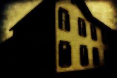 Starzy zaniechani domy obraz stock