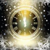 Starzy zegarowi wakacji światła Zdjęcie Royalty Free