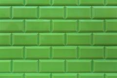 Starzy zieleni ceramiczni azulejos - płytki od Lisbon fotografia stock