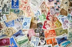 Starzy znaczki Obraz Royalty Free
