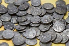 Stash старых кельтских монеток Стоковые Изображения RF