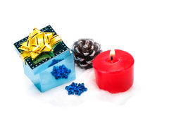 Stash, candle, artificial bump Royalty Free Stock Images