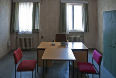 Stasi interrogation room Stock Images