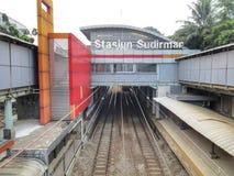 Stasiun Sudirman Royalty Free Stock Images