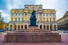 Staszic Palace Stock Photos