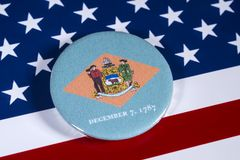 Stat av Delaware i USA arkivfoton