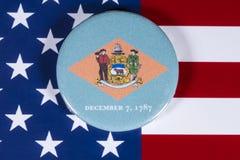 Stat av Delaware i USA Arkivbilder
