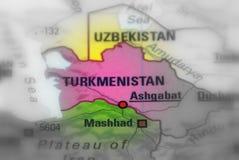 Stat av Turkmenistan arkivfoton