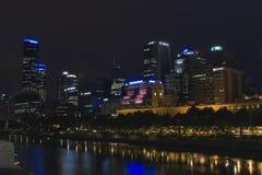 Stat de la calle del Flinders de Melbourne Fotografía de archivo libre de regalías