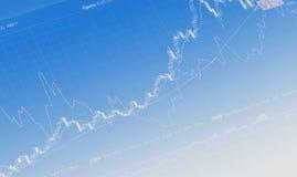 Stat finanziario Fotografia Stock Libera da Diritti