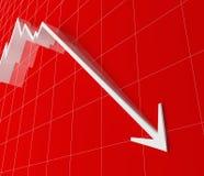Stat finanziario Fotografia Stock